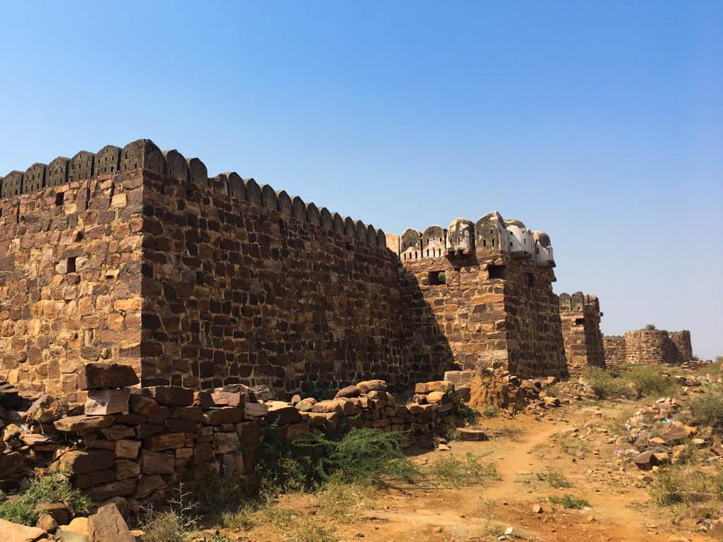 Gandikota city walls
