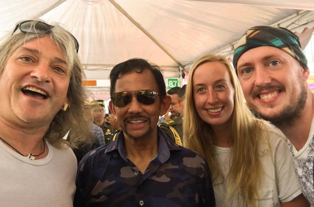 How I Met the Sultan of Brunei