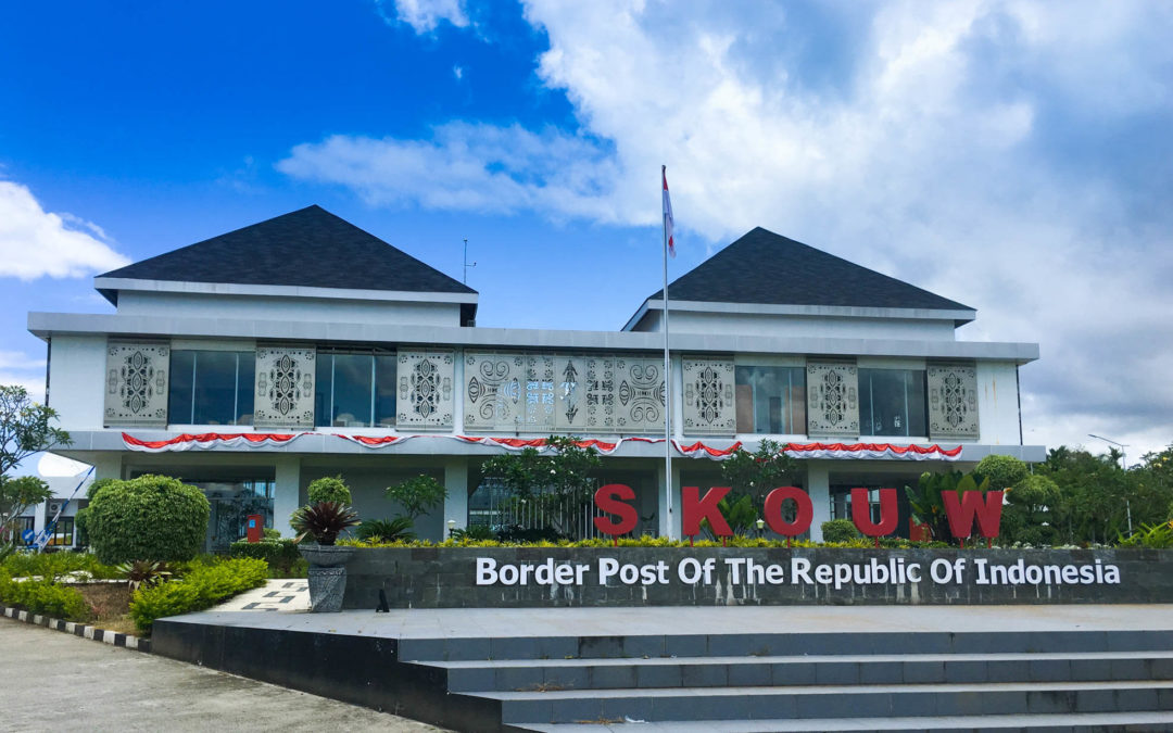 Crossing the Indonesia-PNG Land Border